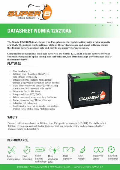 Nomia12V210Ah_Page_1 Datenblatt