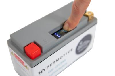 Hypermotive GS Kart Batterie Kapazitätsindikator