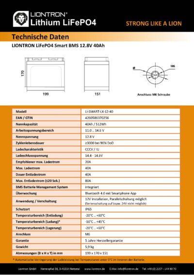 LISMART1240LX_Page_2 Datenblatt