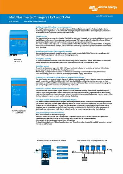 Victron MultiPlus Compact Wechselrichter 12-2000-80-30_Page_1 Datenblatt
